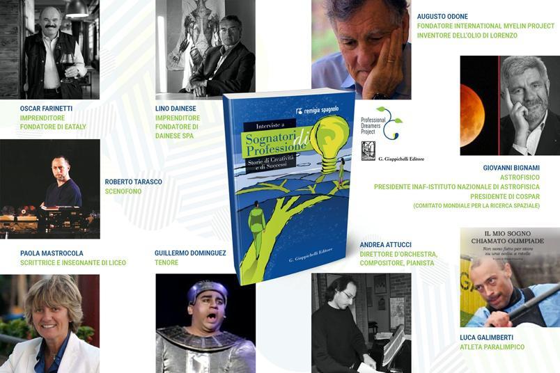 """Le interviste a """"Sognatori di Professione"""" confluiscono in un primo libro sui sogni professionali"""