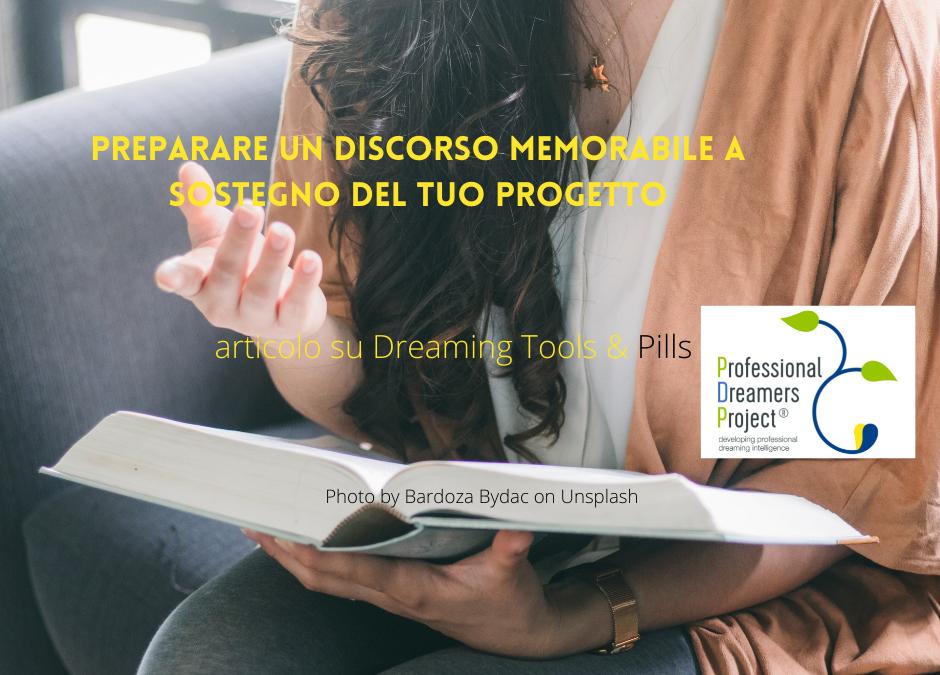 Prepara un discorso memorabile a sostegno del tuo progetto